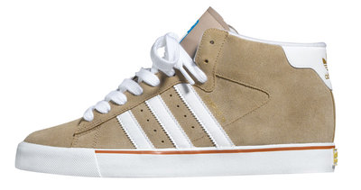 Adidas Skateboarding Campus Vulc Mid - Light Twine