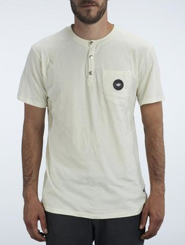Makia X Etnies Pocket T-Shirt - Nature White