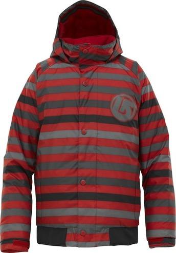 Burton Repel Jacket, Cardinal Fade Stripe