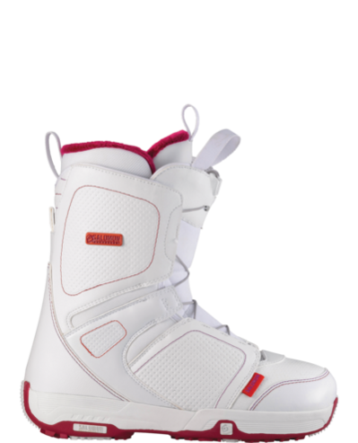 Salomon Pearl Womens Snowboard Boot - White