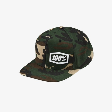 100% Machine Snapback Cap - Camo