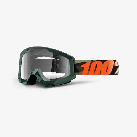 100% Strata Huntsitan Goggles - Clear lens