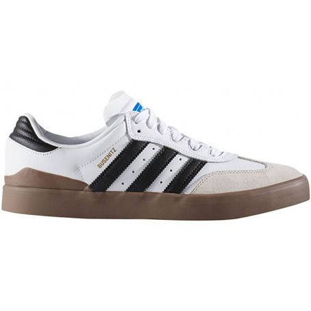 Adidas Busenitz Vulc Samba - White/Black/Bluebird