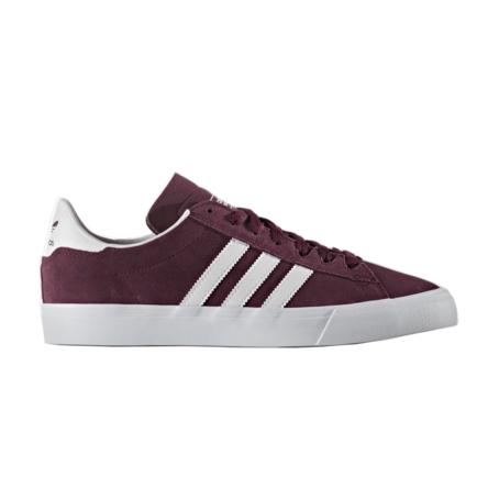 Adidas Campus Vulc - Maroon/White