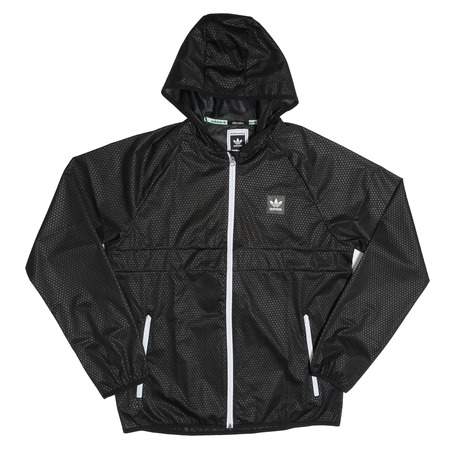 Adidas Climastorm Windbreaker Jacket - Black