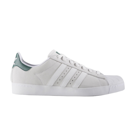 Adidas Superstar Vulc ADV - Crystal White/White/Collegiate Green