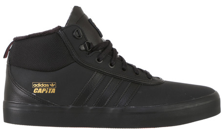 Adidas X Capita Adi Trek Shoe - Core Black/Scarlet/Gold