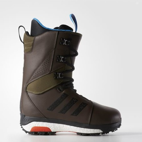 Adidas Tactical Boost Snowboard Boot - Brown/Olive/Chilli