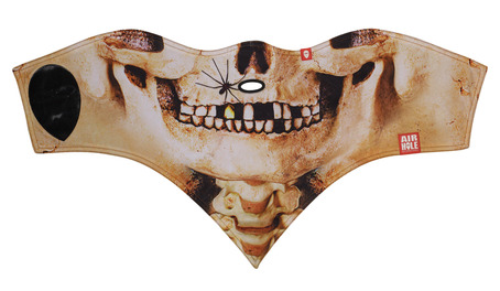 Airhole Standard Face Mask - Skull