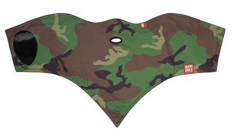 Airhole Standard Face Mask - Woodland