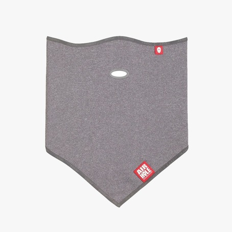 Airhole Standard Lite Polar Facemask - Heather Grey