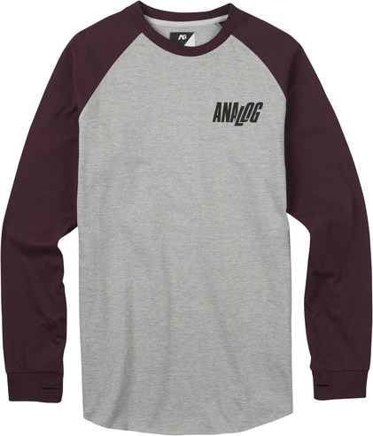 Analog Agonise Long Sleeve - Grey Heather