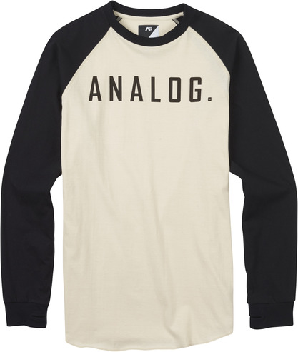 Analog Agonise Long Sleeve - Monochrome