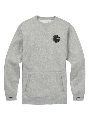 Analog Enclave Crew - Heather Grey