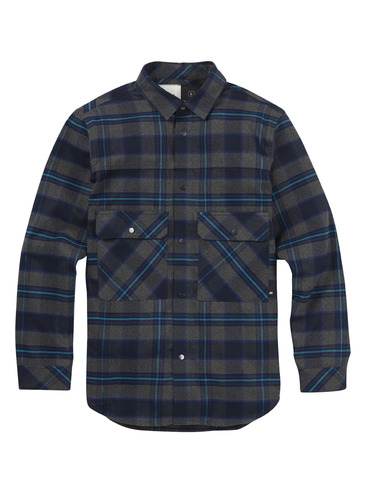 Analog Operative Flannel - Heather Crown Plaid