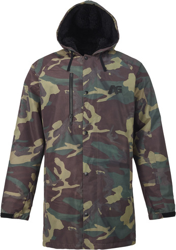 Analog Stadium Parka - Surplus Camo