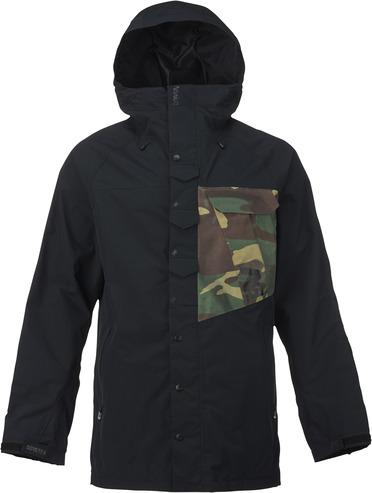 Analog Zenith Jacket - True Black/Surplus Camo