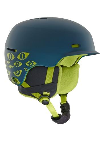 Anon Flash Kids Helmet - Eye dark blue