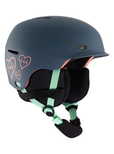 Anon Flash Kids Helmet - Tangle Grey