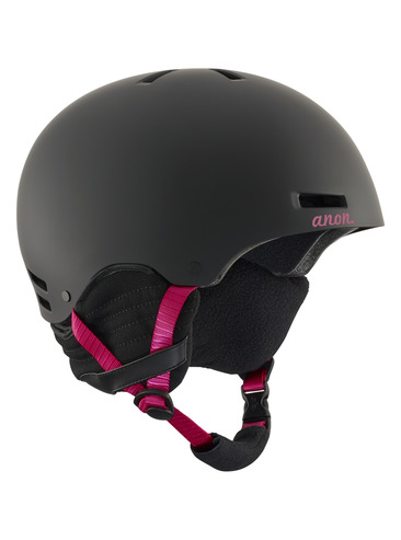 Anon Greta Womens Helmet - Black Cherry