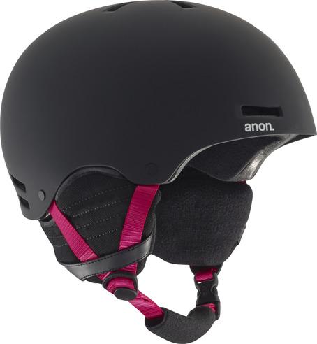 Anon Greta Womens Helmet - Black/Pink
