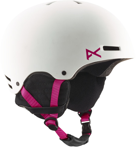 Anon Greta Womens Helmet - White/Pink