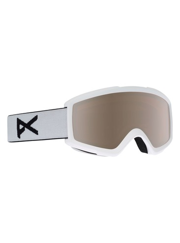 Anon Helix 2.0 Goggles - White/Silver Amber