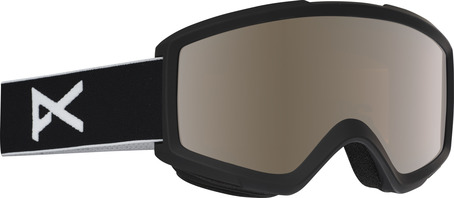 Anon Helix Goggle - Black/Silver Amber