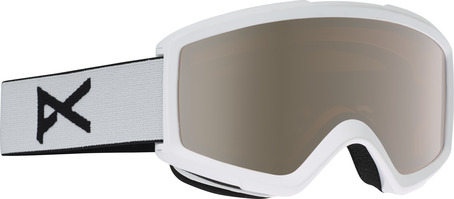Anon Helix Goggle - White/Silver Amber