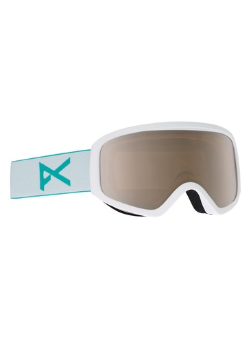 Anon Insight Goggles - White/Silver Amber