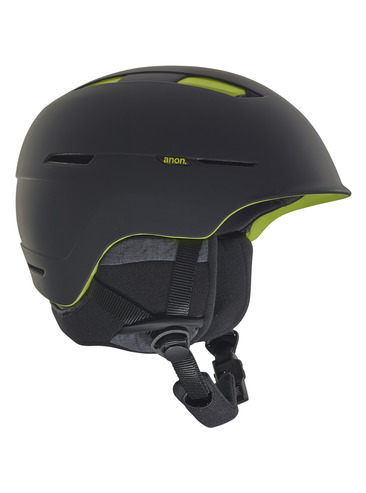 Anon Invert Helmet - Black/Green