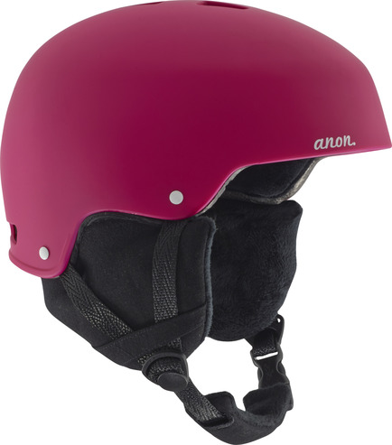 Anon Lynx Womens Helmet - Strawberry Red