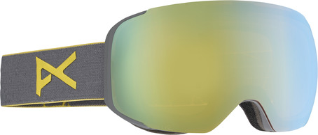 Anon M2 Goggle - Grey/Gold Chrome