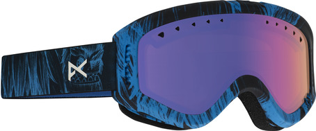 Anon Tracker Goggle - Sulley/Blue Amber