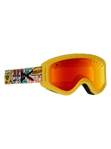 Anon Tracker Kids Goggles - Pizza/Red Amber