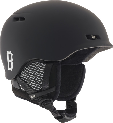 Anon X Black Scale Rodan Helmet - True Black