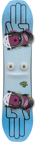 Bataleon Mini Shred Snowboard Set - 100cm