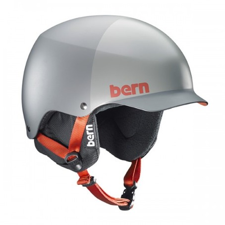 Bern Baker Hard Hat - Matt Grey Hatstyle
