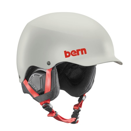 Bern Baker Helmet - Satin Light Grey