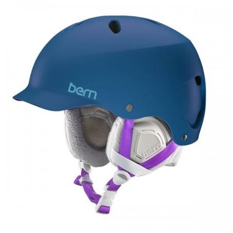 Bern Lennox Helmet - Satin Navy Blue