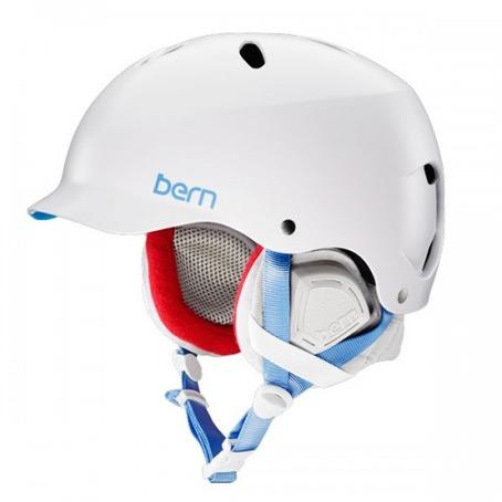 Bern Lennox Helmet - Satin White