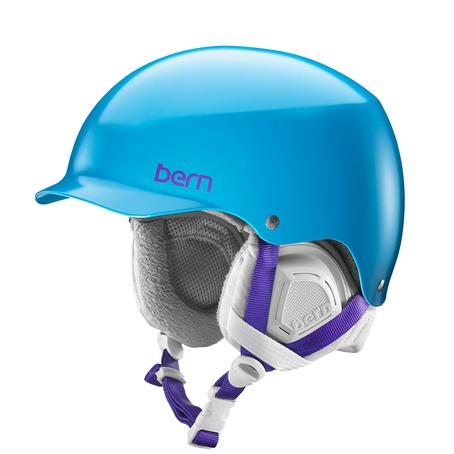 Bern Muse Womens Helmet - Satin Ocean Blue