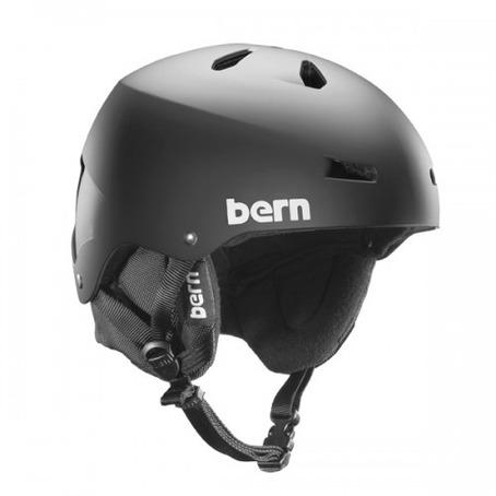 Bern Team Macon EPS Helmet - Matt Black