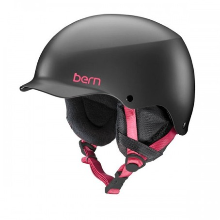 Bern Team Muse - Satin Black