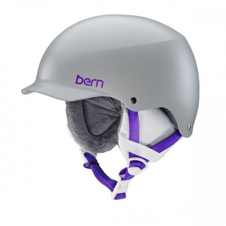 Bern Team Muse - Satin Light Grey