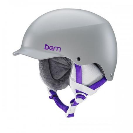 Bern Team Muse - Satin Light Grey