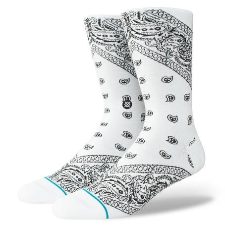 Stance Barrio 2 Socks - White