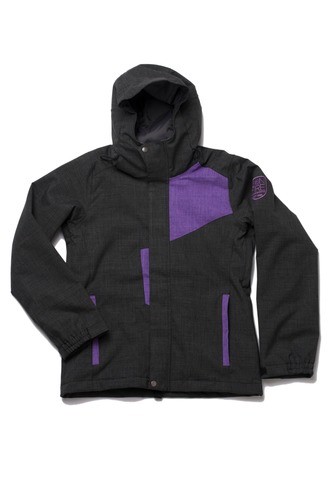 Bonfire Fern Jacket - Black/Rhodi