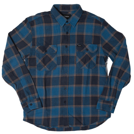 Brixton Bowery Shirt - Blue/Navy