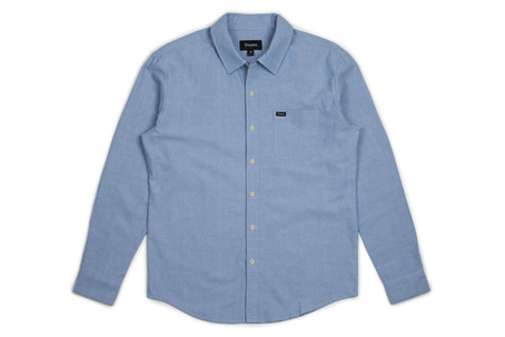 Brixton Charter Shirt - Light Blue Chambray